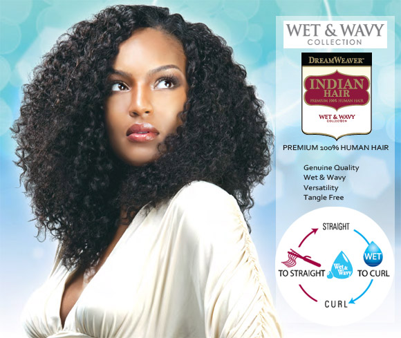 MODEL MODEL Indian Hair 8\u0026quot; Gigi Curl Wet \u0026 Wavy 100% Human
