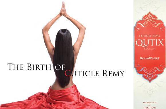 Model Model Qutix Cuticle Remy Hair 114