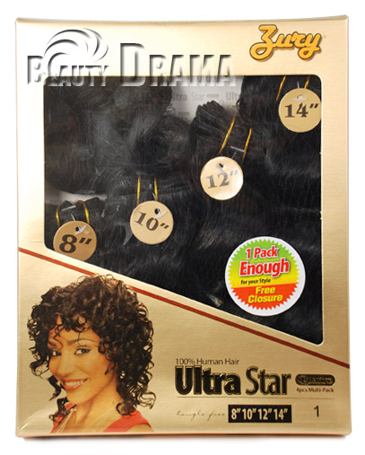Zury Ultra Star Human Hair 46