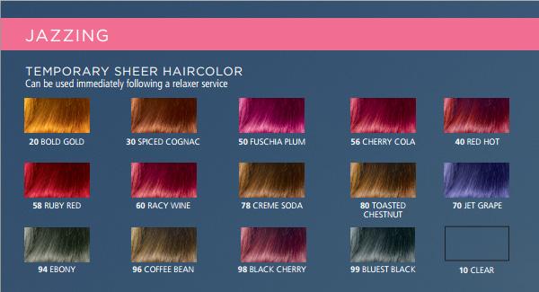 clairol jazzing temporary hair color